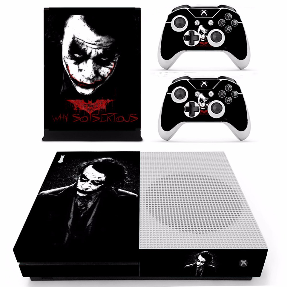 Romantic Batman And Joker Xbox One S 3 Sticker Console Decal Xbox One Controller Vinyl Buy One Get One Free Faceplates, Decals & Stickers