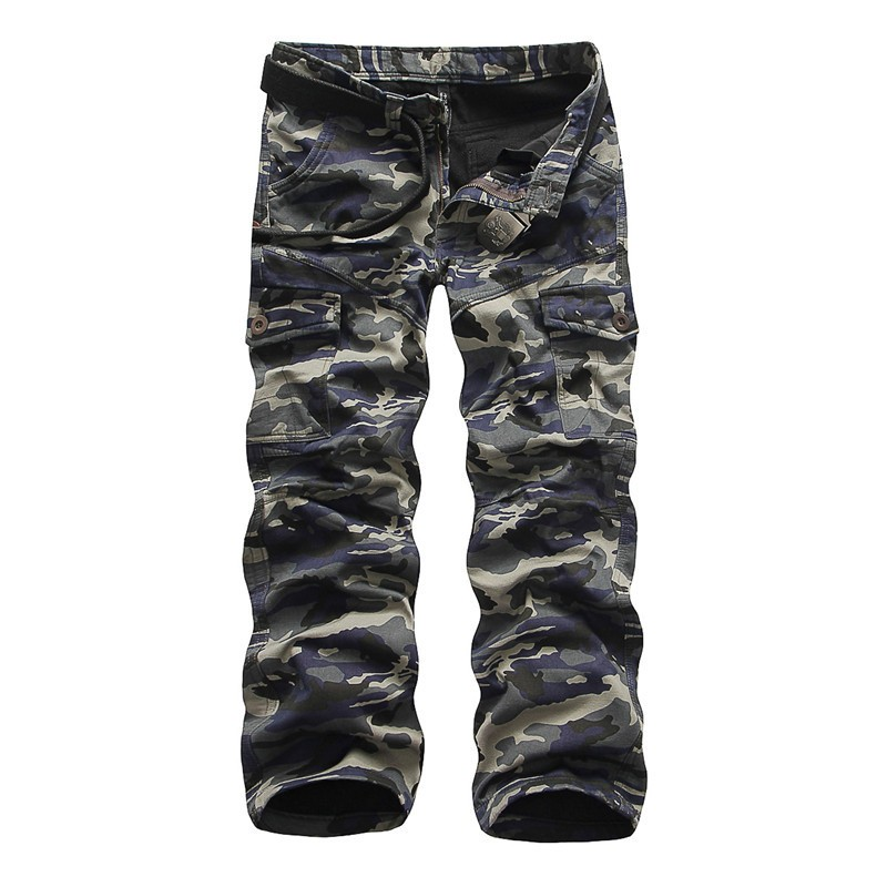 0c7bb14dc7ca9 camouflage tactical army military black cargo pants men's sweatpants ...