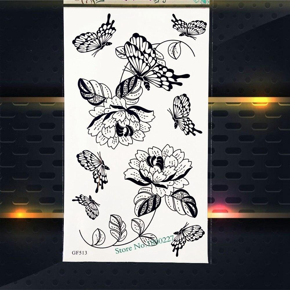 Sonbahar trend uyarısı: Altın rengi geçici dövme takıları
