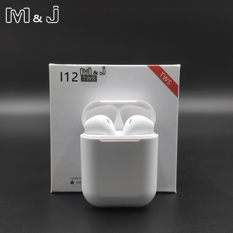 M&J i12 Tws  Bluetooth 5.0 1:1 Earphone Sports Wireless Headset Touch Magnetic Charging Box for Xiaomi i88 i10 tws i30 i20M&J i12 Tws  Bluetooth 5.0 1:1 Earphone Sports Wireless Headset Touch Magnetic Charging Box for Xiaomi i88 i10 tws i30 i20