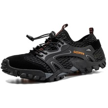 Unisex Mesh Aqua Shoes Outdoor Professional Non-slip Durable Trekking Upstream Shoes Cool Hiking Wading Water Sports Sneakers new arrival original adidas climacool jawpaw slip on unisex aqua shoes outdoor sports sneakers