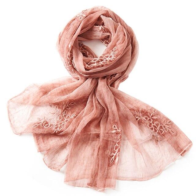 [REALBY] 2017 Spring New Arrival Soft silk scarf, Infinity 190*80cm  Summer Scarves women,luxury brand scarfs, shawl W6033