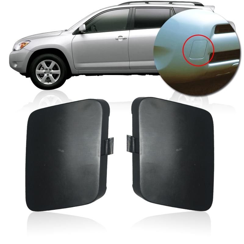CAPQX Original Front Bumper Tow Hook Cover Cap For TOYOTA RAV4 ACA33 ACA30 ACA31 2005 2006 2007 ...