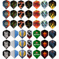150 pcs/lot Dart Flights in 50 Kinds of Patterns RARE Darts Fin Feather Accessories Super Value Flights Pack Free shipping