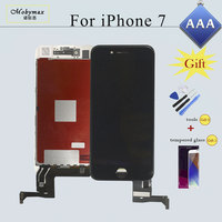Screen For IPhone 7 6 6S Plus 5S LCD Display Touch Screen Digitizer Assembly Replacement With