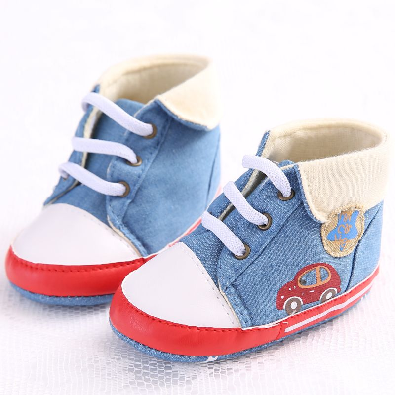 Baby Girl Shoes The First Walker Baby Boy Shoes Toddler Jeans High Heel Soft Sole First Shoes Prewalker