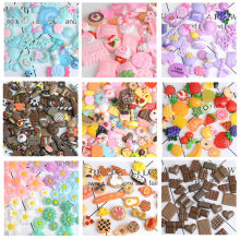 30pcs Fake simulated food simulation, resin miniature food charms for decoration DIY jewelry accessories children's handmade(China)