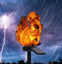 Squirrel LED Garden Lights Solar Night Lights Owl Shape Solar-Powered Lawn Lamp Night Lights Home Garden Creative Solar Lamps