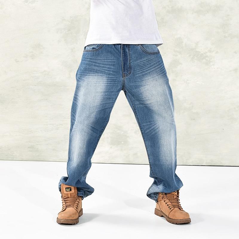 Hip Hop Jeans Fashion Baggy Skateboarder Denim HipHop Rap Jeans