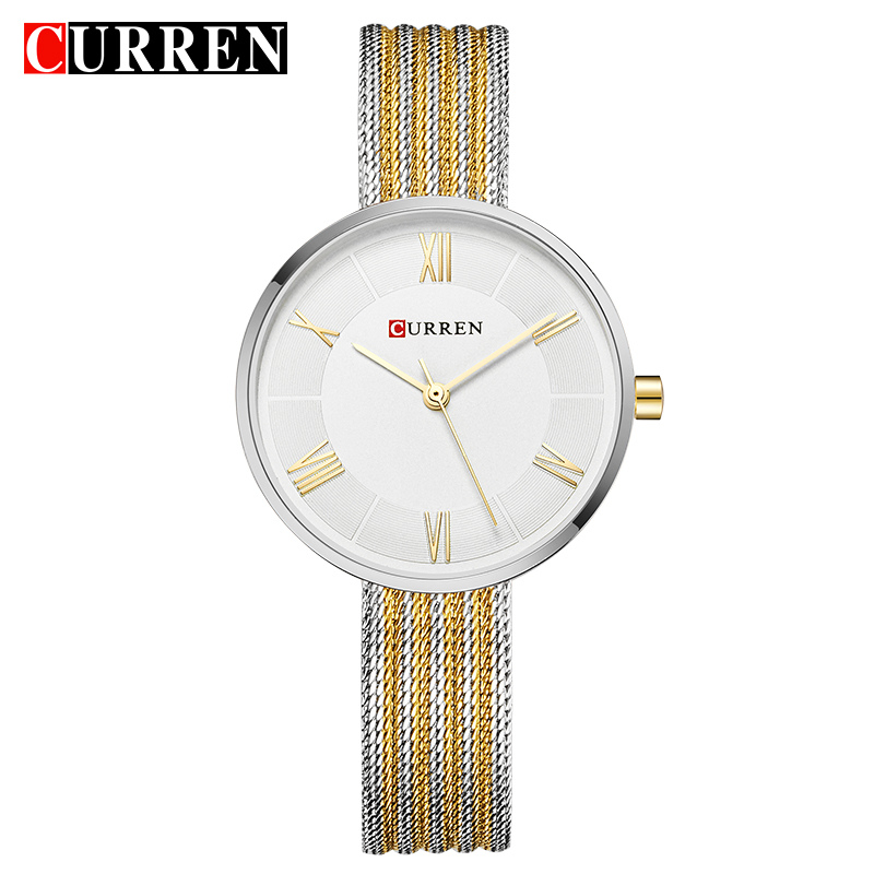 CURREN Hot Fashion Creative Women Bracelet Watches Dress Ladies Wristwatch Casual Quartz Clock Gift Relogio Feminino Reloj Mujer
