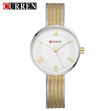 CURREN Hot Fashion Creative Women Bracelet Watches Dress Lad