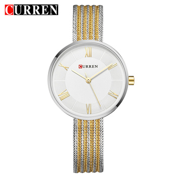 CURREN Hot Fashion Creative Women Bracelet Watches Dress Ladies Wristwatch Casual Quartz Clock Gift Relogio Feminino reloj mujer - discount item  47% OFF Women's Watches