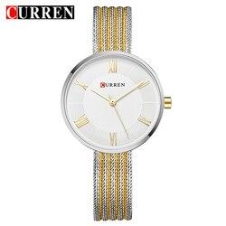 Curren moda quente criativo feminino pulseira relógios vestido senhoras relógio de pulso relógio de quartzo casual presente relogio feminino reloj mujer