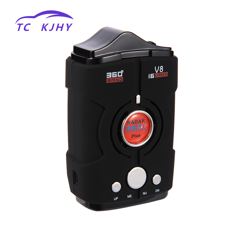 2018 360 Degree Radar Detector Full Band LED Display Car Electronics Accessories Detector Auto Laser Security Car Speed Control