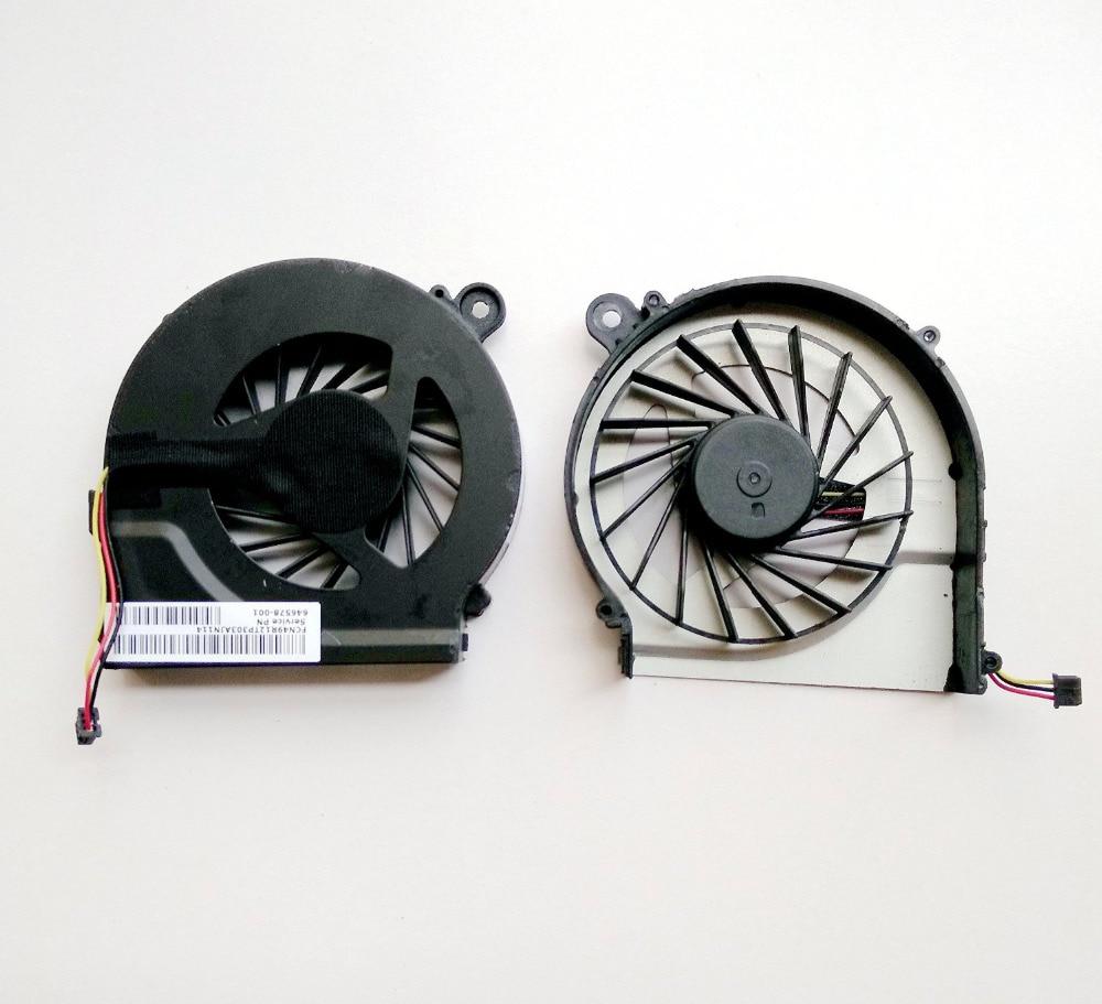 SSEA Новый вентилятор охлаждения процессора 3-контактный для HP Compaq G62 G42 G42-300 CQ42 CQ62 CQ42-100 CQ42-200 CQ42-300 для HP Pavilion G4 G6 G7
