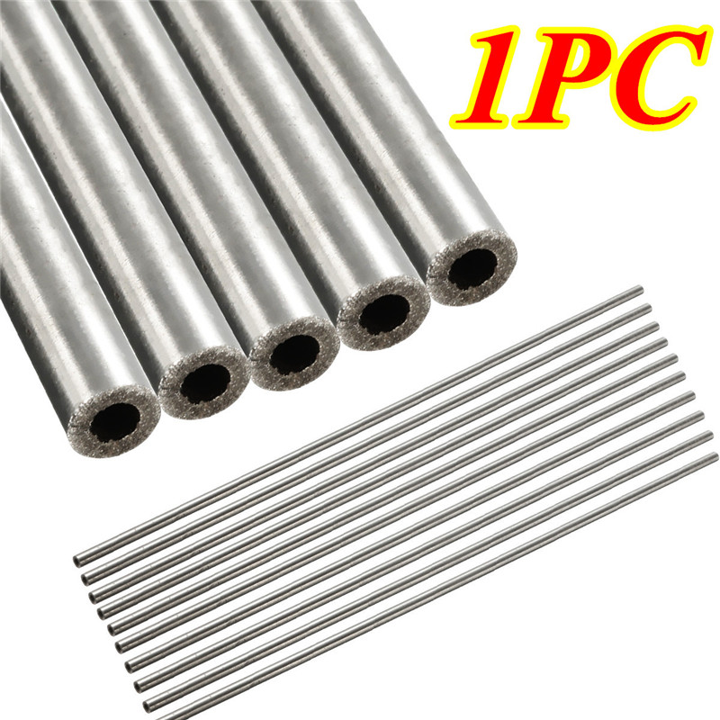 1pc OD 4mm x 2mm ID Length 250mm 304 Stainless Steel Capillary Tube Stainless Steel Pipe 5pcs 304 stainless steel capillary tube 3mm od 2mm id 250mm length silver for hardware accessories