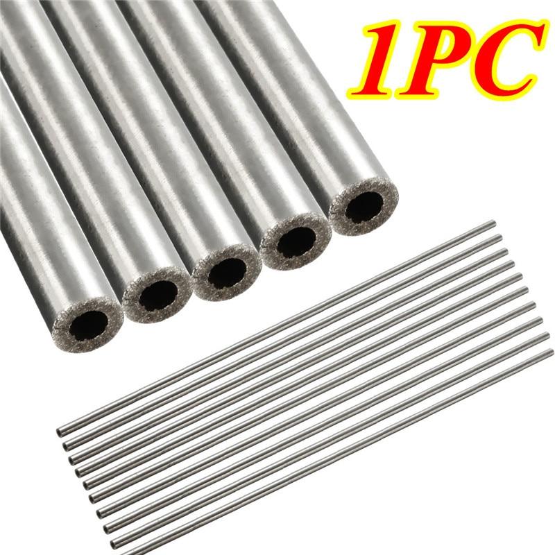 304 Stainless Steel Capillary Tube OD 4mm x 3mm ID Length 250mm Metal Tool $TCA