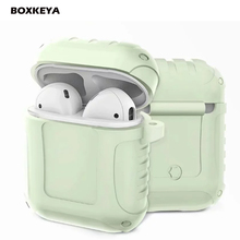 Luminous Silicone Cover For AirPods Earpods Case For Airpod Protector Case Charg