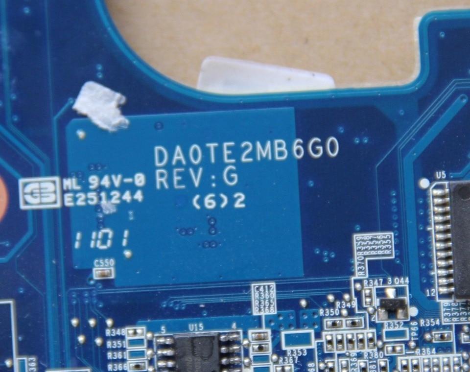 Toshiba Satellite L645 OEM Intel Motherboard A000073390 DA0TE2MB6G0 Rev:G TESTED