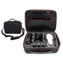Mavic Air Bolso de mano impermeable para Estuche portátil, caja de almacenamiento de piel de carbono PU, para DJI MAVIC AIR