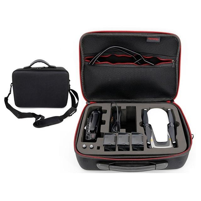 Mavic Air Waterproof Bag Handbag Portable Case PU Carbon Skin Storage Box Shoulder Bag For DJI MAVIC AIR