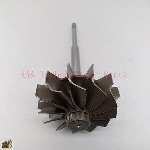 Image 3 - HX40/HX40W Turbo teile Turbine rad 67mm * 76mm 12blades, lieferant AAA Turbolader Teile