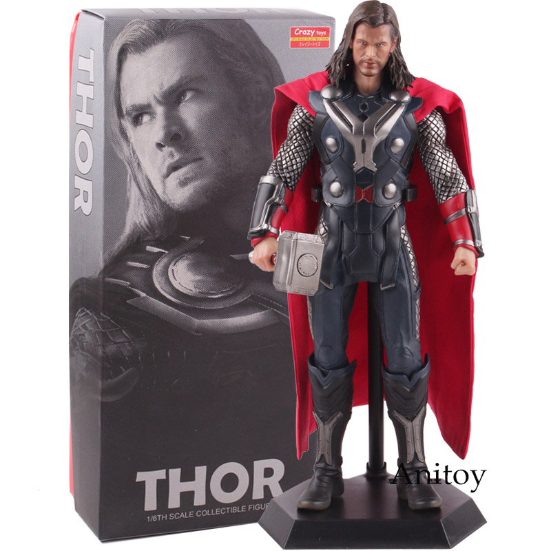 Crazy Toys Marvel Legends Thor Action Figure PVC 1 6th Scale Collectible Figure Model Toy 29
