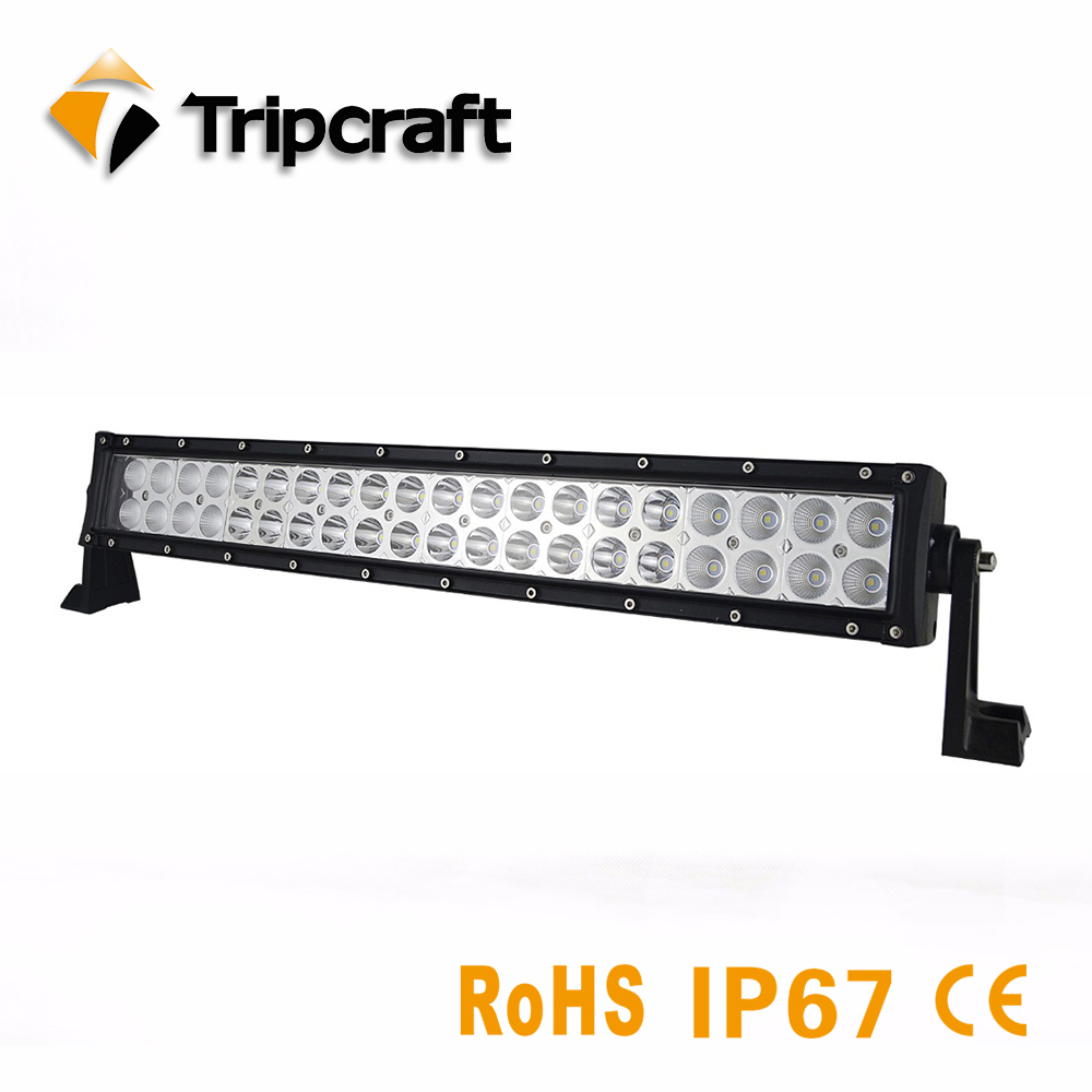 Tripcraft 120W led driving light 21inch IP67 waterproof led light bar for Offroad Boat Car Truck ATV SUV 4WD 4x4 factory price tripcraft dual row 80w led light bar for work driving boat car truck 4x4 suv atv off road fog lamp led 12v 24v light car styling