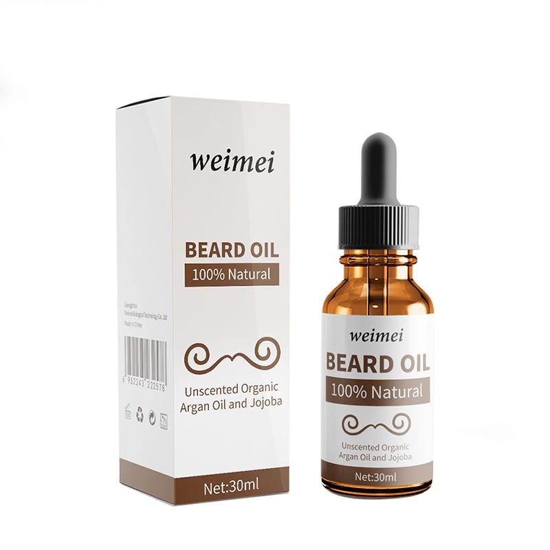 30ml Natural Beard Care Essential Oils Beard Growth Soft Beard Oil Hair Loss Products