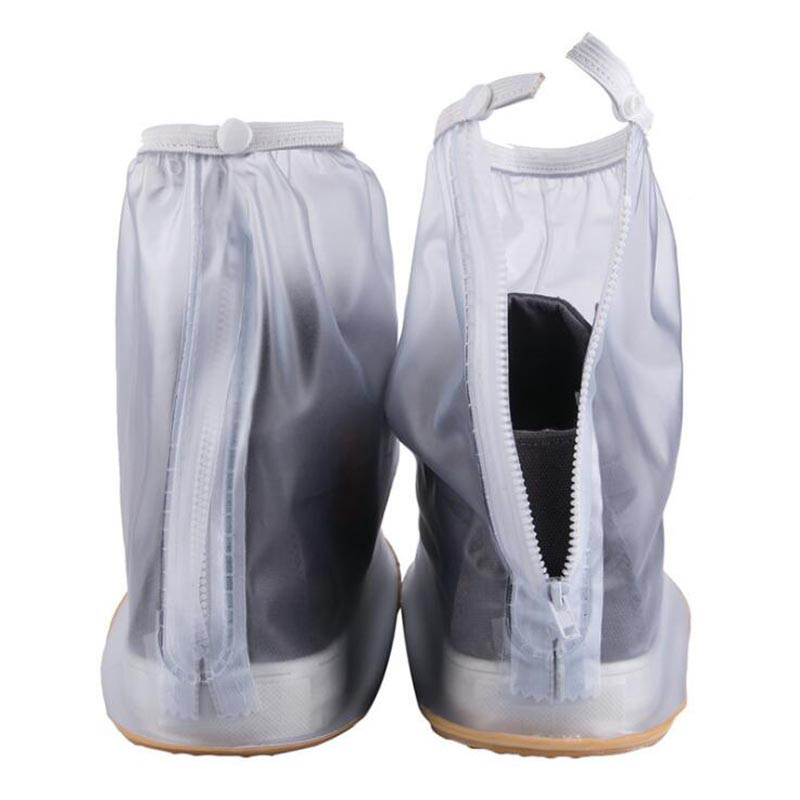 Waterproof Rain Reusable Shoes Covers, All Seasons slip-tahan Zipper - Aksesoris sepatu - Foto 3