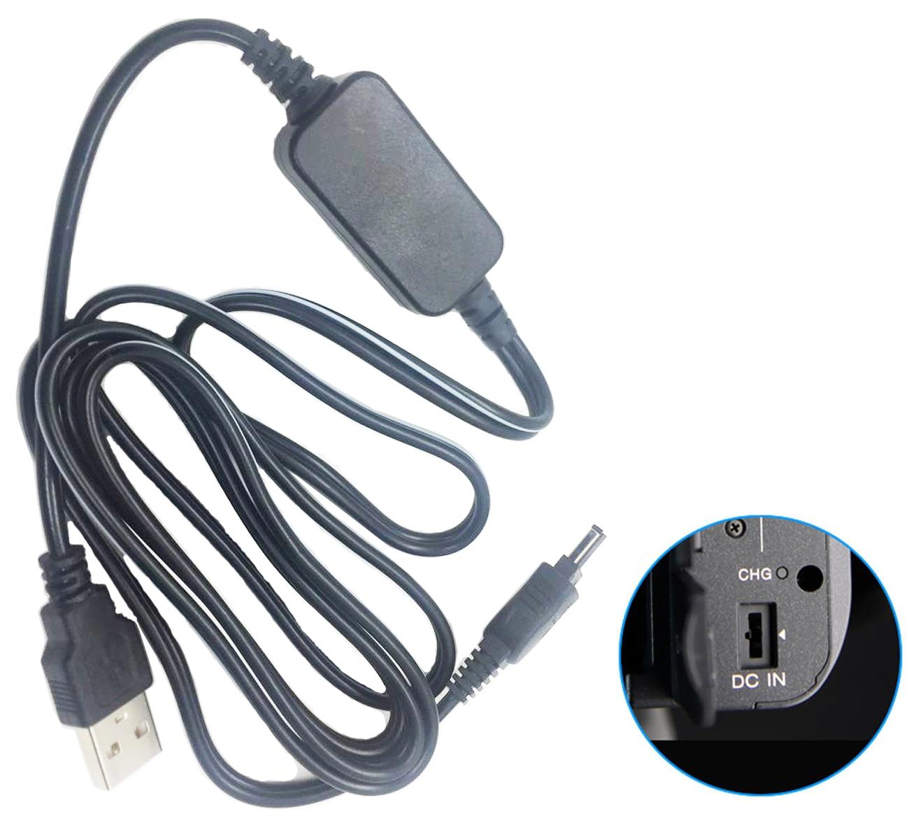 Cargador cable de alimentación para Sony ccd-trv208e