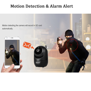 Image 2 - INQMEGA caméra intelligente sans fil HD 1080, vidéosurveillance, suivi automatique de sécurité à domicile, réseau Wifi, caméra intelligente