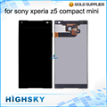 For Sony Z5 Mini LCD Z5 Compact Display E5823 E5803 Screen With Touch Digitizer assembly AAA Quality 1 Piece Free Shipping