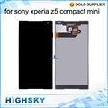 Para sony z5 mini lcd z5 pantalla compacta e5823 e5803 pantalla Táctil Con Digitalizador asamblea Calidad AAA 1 Unidades Envío gratis