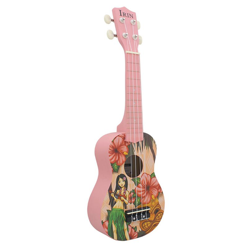 IRIN Ukelele Soprano 21 inch Guitar Ukulele 4 Nylon String small guitar Music Instrument Professional Acoustic Hawaii GuitarIRIN Ukelele Soprano 21 inch Guitar Ukulele 4 Nylon String small guitar Music Instrument Professional Acoustic Hawaii Guitar