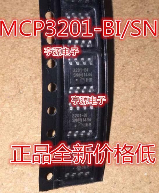 1PCS  MCP3201  MCP3201-BI/SN 3201-BI  SOP8
