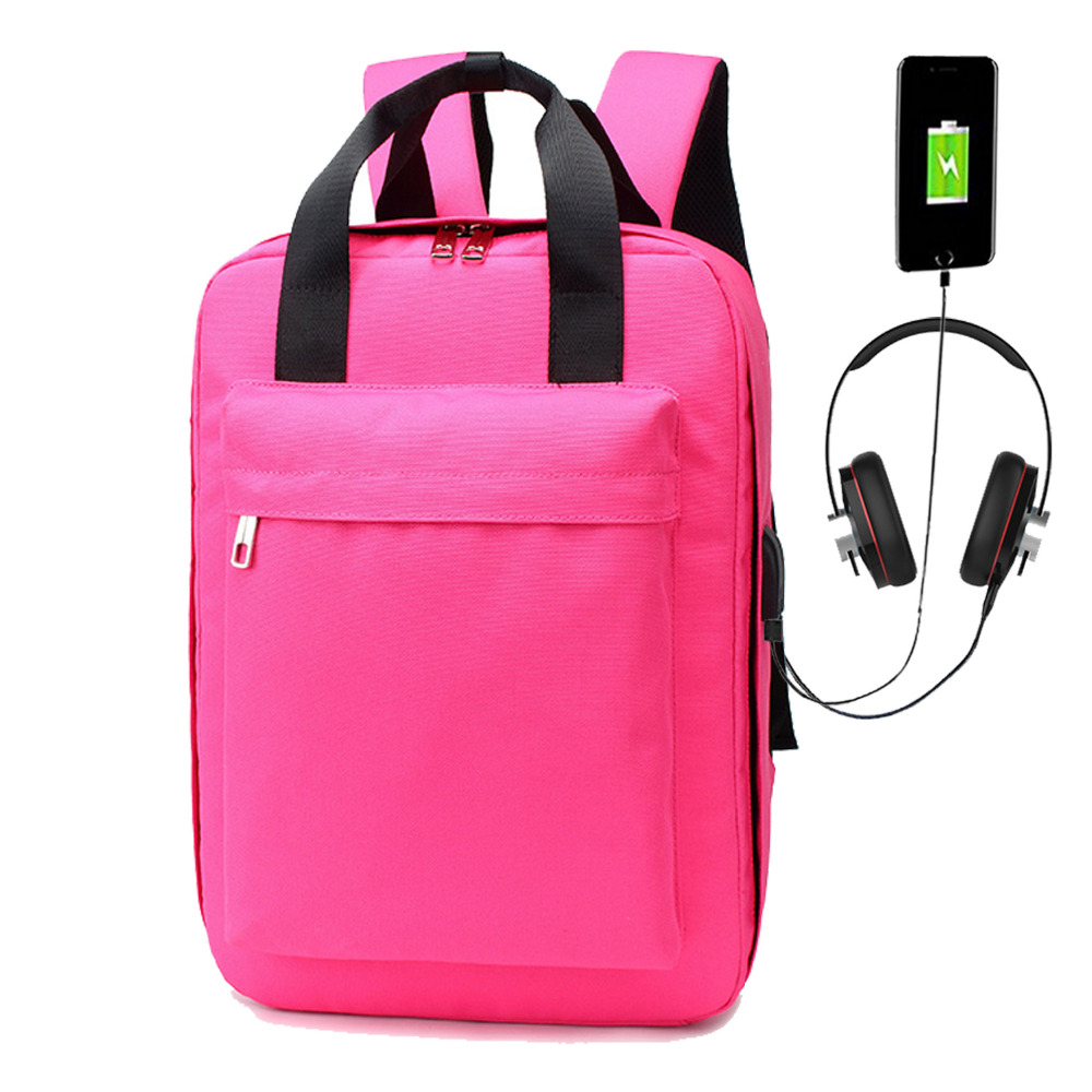 Large Capacity 15.6 Inch Laptop Anti theft Backpack USB Charging Travel Suitcase for Men Women daypack School Mochila Masculina