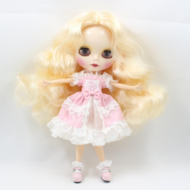 TBL Neo Blythe Doll Premium Jointed Body Combo Blythes + Dress + Shoes