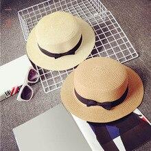 Соломенная Панама, женская летняя пляжная шляпа с широкими полями, Солнцезащитная уличная шляпа для путешествий, B2Cshop