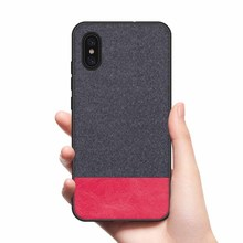 CoolDeal for Xiaomi Mi 8 Explorer case Mi8 Explorer back cover soft silicone edge shockproof fabric for Xiaomi Mi 8 Explorer недорого