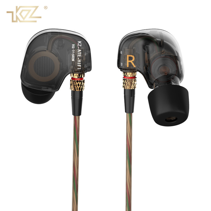 KZ Super Stereo Sport Earphones with Mic DJ HIFI Earphone Earpieces Bass Headset Running Earbuds for IPhone Xiaomi Kulaklik купить