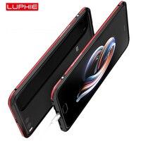 For Xiaomi Mi Note 3 Case Two Colors Aluminum Metal Bumper Case For Xiaomi Mi Note3