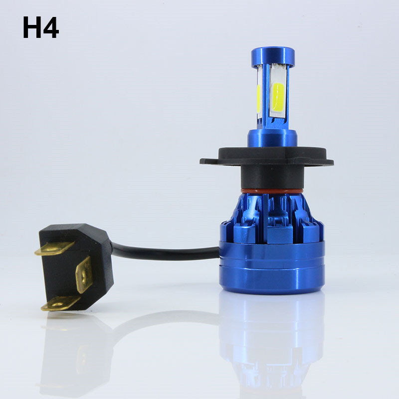 1X H4 HS1 9003 HB2 Auto Car Motorcycle Led Headlight 12-24V 9000LM Light White For Toyot ...