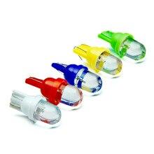 10 stücke T10 LED 1SMD w5w birne led Automotive 194 12 v auto lesen licht auto styling