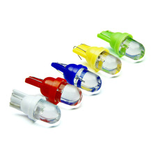 цена на 10PCS Led Car DC 12v Lampada Light T10 SMD Super White 194 168 w5w T10 Led Parking Bulb Auto Wedge Clearance Lamp