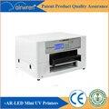 Personalizado agregar altura impresora uv de cama plana máquina de impresión de madera