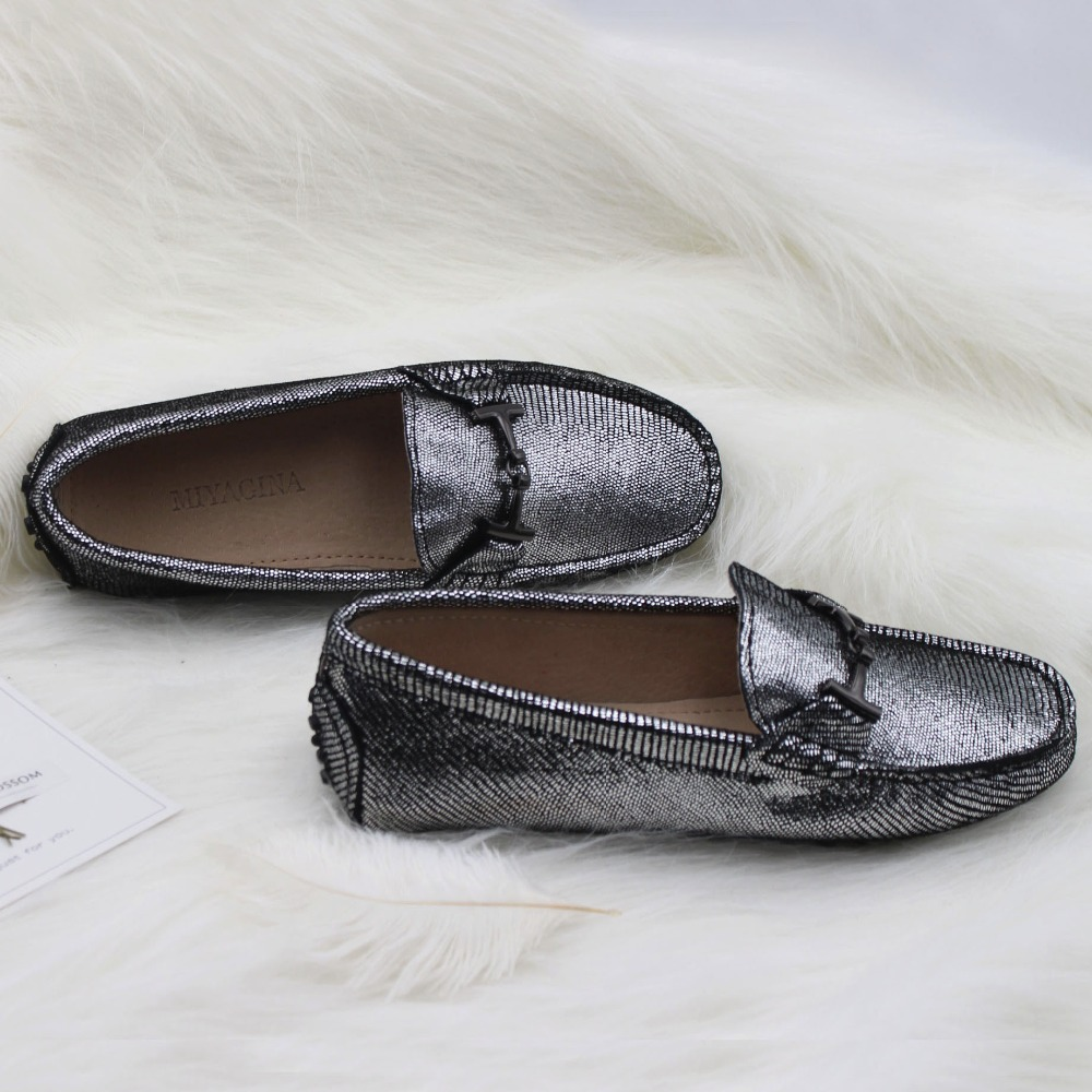 New Women 100% genuine Leather Shoes Moccasins Mother Loafers Soft leisure Flats Female Driving Casual Footwear 7 Colors 2017 new women genuine leather mother shoes moccasins women s soft leisure flats female driving shoe flat 10 colors w908