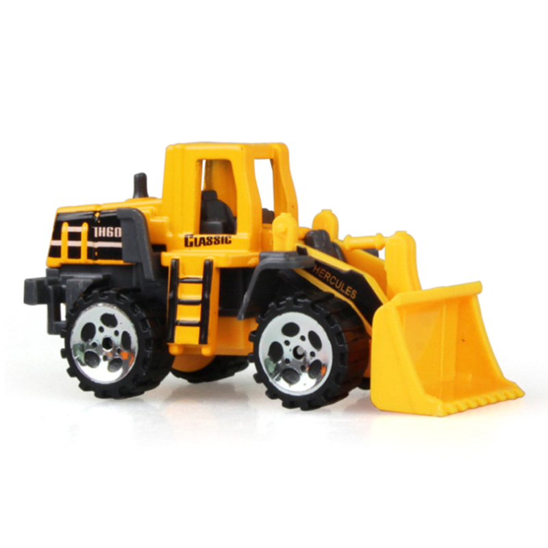 8PCS/Set Baby Engineering Cars Toy Boys Girls Imitation Inertial Engineering Car Children Toy Alloy Excavator Gift New Toy