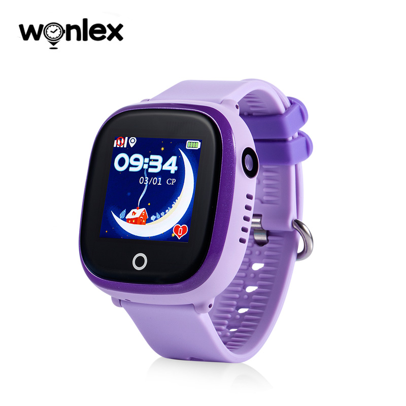 Newest Wonlex GW400X Wifi Waterproof IP67 GSM Children Smart GPS Watch with Camera For Safety with