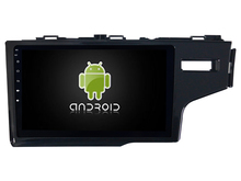 Octa core android 8.0 4gb ram and 32gb rom ips screen car radio gps navigation system for Honda JAZZ Fit 2014 Rhd with rear view